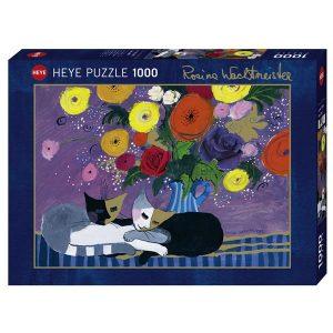 Puzzle Gatos durmiendo