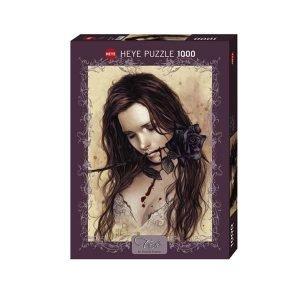 Puzzle Rosa Negra - Victoria Francés