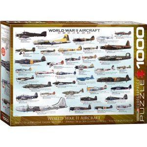 Puzzle Aviones Segunda Guerra Mundial