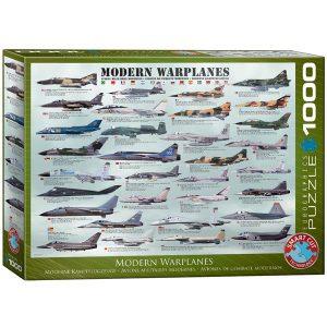 Puzzle aviones de guerra modernos