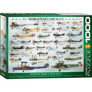 Puzzle Aviones Primera Guerra Mundial