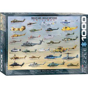 Puzzle Helicópteros militares del mundo