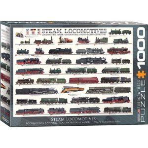 Puzzle Locomotoras de vapor