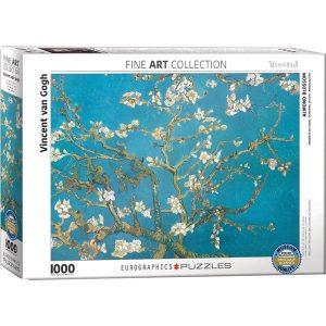 Puzzle Eurographics Almendro en flor de van Gogh 1000 piezas corte irregular Smart Cut. Puzzles Magin tienda de puzzles online con envíos 24-48 horas.