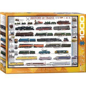 Puzzle La historia del Tren