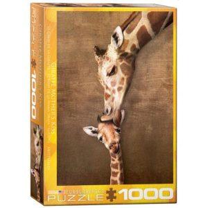 Puzzle Beso de la Madre Girafa