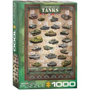 Puzzle la Historia de los tanques