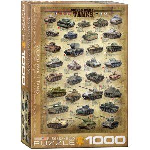 Puzzle Tanques de la Segunda Guerra Mundial - WWII