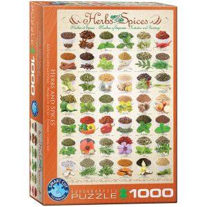 Puzzle Hierbas y especias