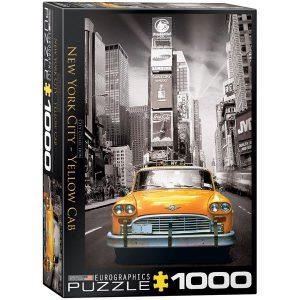 Puzzle New york City - Taxi amarillo