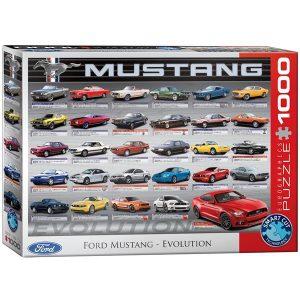Puzzle Historia del Ford Mustang