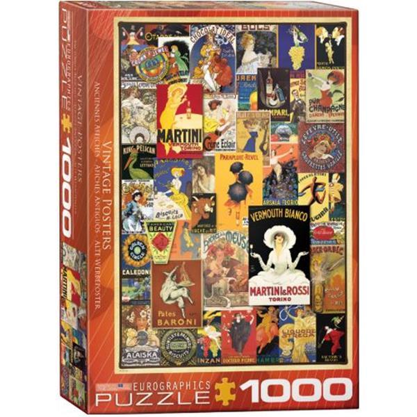 Puzzle Anuncios Vintage