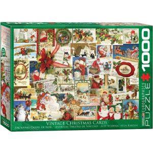 Puzzle Postales de Navidad Vintage
