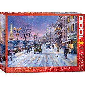 Puzzle Nochebuena en París de Dominic Davison