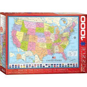 Puzzle Mapa de los Estados Unidos de América