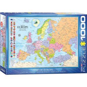 Puzzle Mapa de Europa