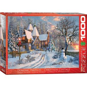 Puzzle Paisaje Navidad Christmas Cottage