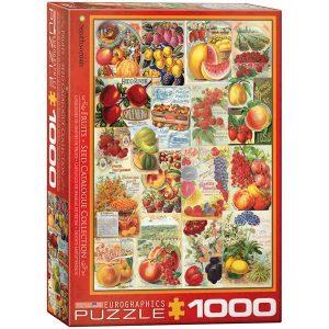 Puzzle Cátalogo de frutas