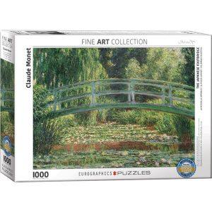 Puzzle El puente japonés de Claude Monet