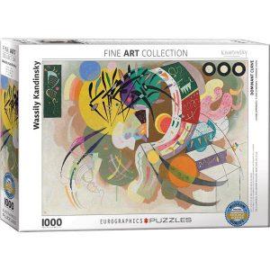 Puzzle Curva dominante de Wassily Kandinsky