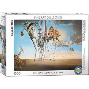 Puzzle Eurographics La tentación de San Antonio de Dali 1000 piezas corte Smart Cut. Puzzles Magin tienda de puzzles online con envíos 24-48 horas.