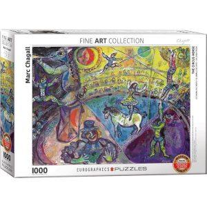 Puzzle El caballo de circo de Marc Chagall