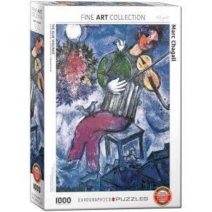 Puzzle El violinista azul de Marc Chagall
