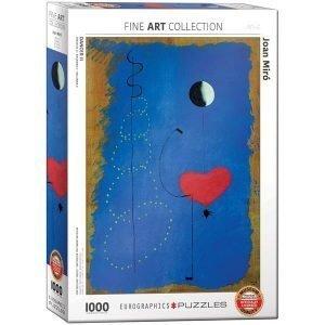Puzzle Bailarina II de Joan Miró