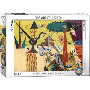Puzzle La tierra labrada de Joan Miró