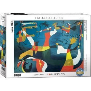 Puzzle Golondrina, Amor de Joan Miró