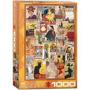 Puzzle Antiguos carteles de teatro y opera