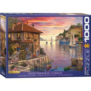 Puzzle Puerto mediterráneo de Dominic Davison