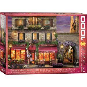 Puzzle Restaurante El Sombrero Rojo de David Maclean