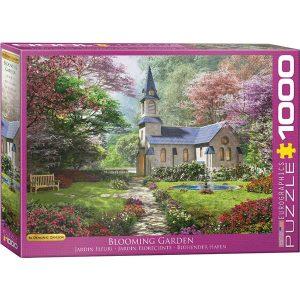 Puzzle Jardín Floreciente de Dominic Davison