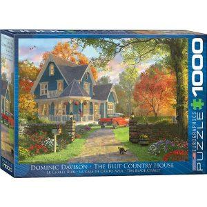 Puzzle Casa de Campo Azul de Dominic Davison