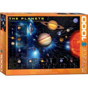 Puzzle Los planetas