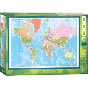 Puzzle Mapas del mundo