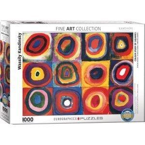 Puzzle Estudio de colores de Wassily Kandinsky