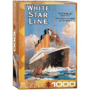 Puzzle Titanic White Star Line