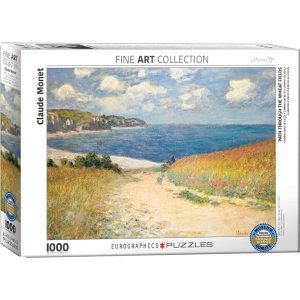 Puzzle Camino entre los campos de trigo de Claude Monet