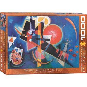Puzzle En azul de Wassily Kandinsky