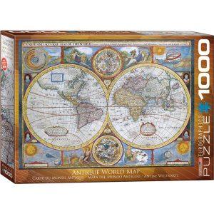 Puzzle Mapa del mundo antiguo