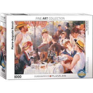 Puzzle El almuerzo de Pierre-Auguste Renoir