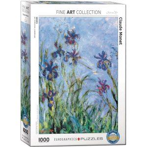 Puzzle Flores de iris de Claude Monet