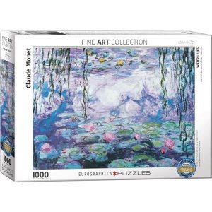Puzzle Los nenúteres de Claude Monet