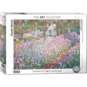 Puzzle El jardín de Monet de Claude Monet
