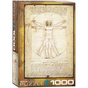 Puzzle El hombre de Vitruvio de Leonardo Da Vinci