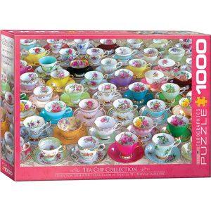 Puzzle Colección de tazas de té