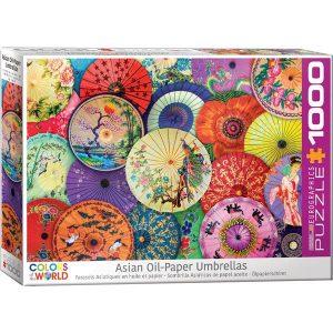 Puzzle Parasoles de papel - Asia