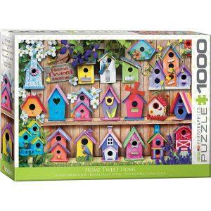 Puzzle Casas de pájaros